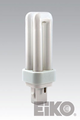 Eiko QT9/27 9W Quad-Tube 2700K G23-2 Base Fluorescent Light Bulb