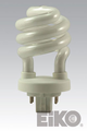 Eiko SP13/27-4P - 13W 2700K 4 Pin Base Spiral CFLI 031293052513 Lamps.