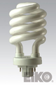 Eiko SP26/27-4P - 26W 2700K 4 Pin Base Spiral CFLI 031293052520 Lamps.