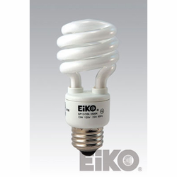 Cfli Medium Based Spiral Cfli, Lamps And Light Bulbs - Eiko Lamps