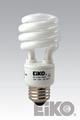 Eiko SP13/27K - 13W 120V 2700K Spiral Shaped CFLI 031293000316 Lamps.