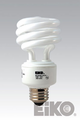 Eiko SP19/50K 19W/20W 120V 5000K Spiral Shaped Light Bulb