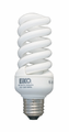 Eiko SP19/65K 19W/20W 120V 6500K Spiral Shaped Light Bulb