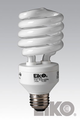 Eiko SP27/27K 27W 120V 2700K Spiral Shaped Light Bulb