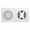 Atlas Sound 830-812a baffle clk 8 in 12 in cl white.