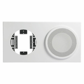 Atlas Sound 830-89a baffle 8 in 8 in cl white.