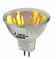 Ushio 1003132 EXT/OR/FG - JR12V-50W/SP12/FG/Orange Light Bulb