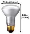 Ushio 1003204,  Lamp -Light Bulb - 30W R20/LF/20, 20000 h
