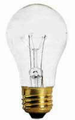 Ushio 1003216 - 25W A-19/CL/20, 20000 Hr Light Bulb