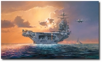 Dawn Operations, Abraham Lincoln Style by Rick Herter