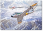 MiG Alley by Mark Karvon (F-86 Sabre)