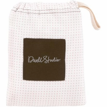DwellStudio Pin Dot Petal Fitted Crib Sheet