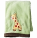Kidsline Tiddliwinks ABC 123 Embroidered Boa Blanket