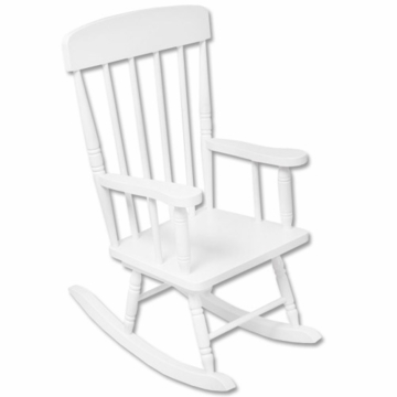 Kidkraft Spindle Rocking Chair in White