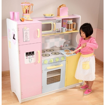 KidKraft Wooden Kitchen and Refrigerator