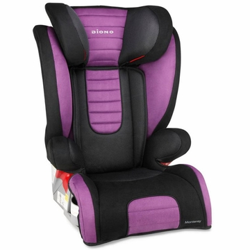 Diono Monterey Booster Car Seat - Purple