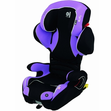 Kiddy Cruiserfix Pro Car Seat in Lavendar
