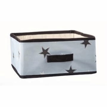 Lambs & Ivy Rock N' Roll Organic Storage Box