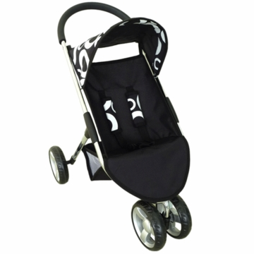 Valco Baby Amy 3 Wheel Doll Stroller in Cirque