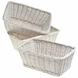Kids Line Lady Bug White Basket Set of 3