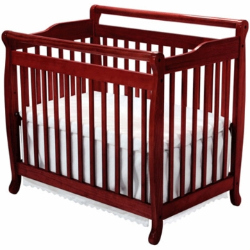 DaVinci Emily MINI 2 in 1 Convertible Crib in Cherry