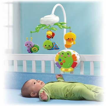 Fisher Price Friendly Firsts Smart Response Musical Mobile