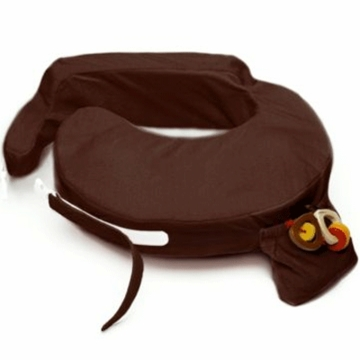 My Brest Friend Deluxe Wearable Nursing Pillow in Chocolate