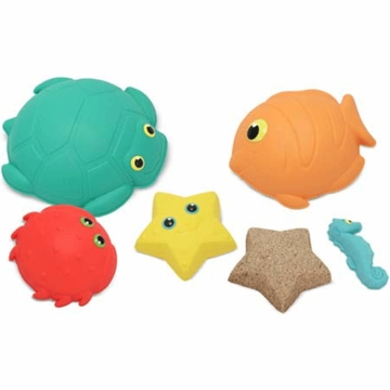 Melissa & Doug Seaside Sidekicks Sand-Molding Set