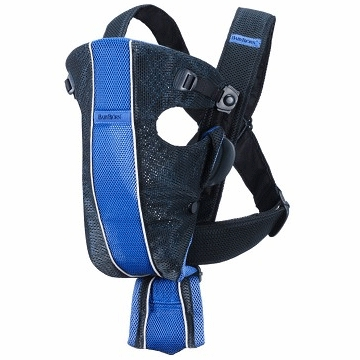 BabyBj�rn Baby Carrier Air in Dark Blue/Blue