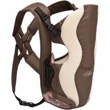 Evenflo Glide Baby Carrier in Floral Brown