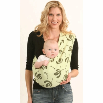 Balboa Baby Serene Sling in Palm Green