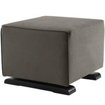 Monte Design Luca Ottoman in Charcoal