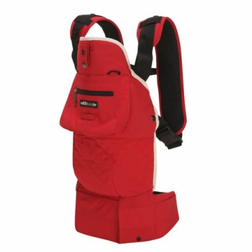 Lille Baby EveryWear Style Carrier Red with Cream Lining