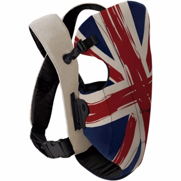 Snugli Front Carrier in Union Jack