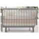 Oilo Freesia 3 Piece Crib Bedding Set in Blush