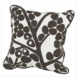 "Oilo Modern Berries 18"" x 18"" Pillow in Brown"