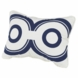 Oilo Wheels Pillow in Cobalt Blue