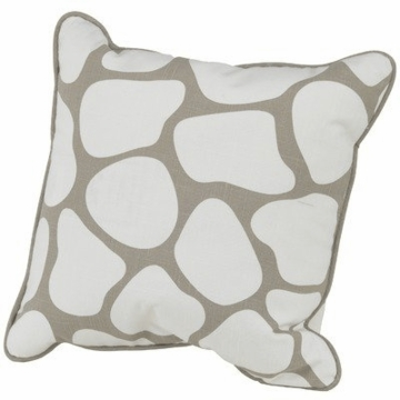 "Oilo Cobblestone 18"" x 18"" Pillow in Taupe"