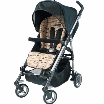 Peg Perego 2010 Si Lightweight Stroller in Black Step