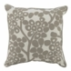 "Oilo Modern Berries 18"" x 18"" Pillow in Taupe"