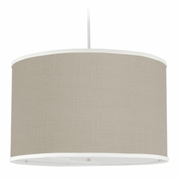 Oilo Solid Large Cylinder Light in Taupe