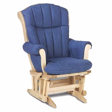 Dutailier 978101 Multiposition Glider with Comfort Plus Cushion