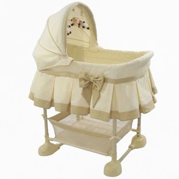 Arm's Reach Harmony Bassinet - Gold Jaquard