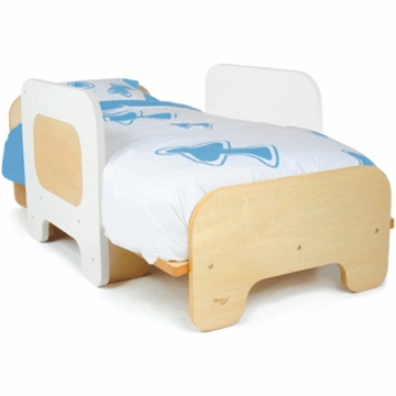 P'kolino Toddler Bed in White
