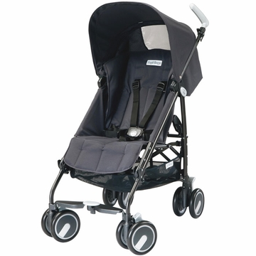 Peg Perego Pliko Mini Lightweight Stroller - Iron