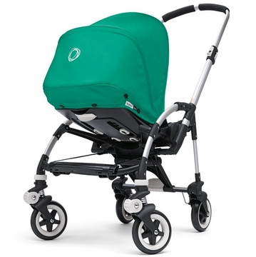 Bugaboo Bee Stroller and Canopy in Jade Green