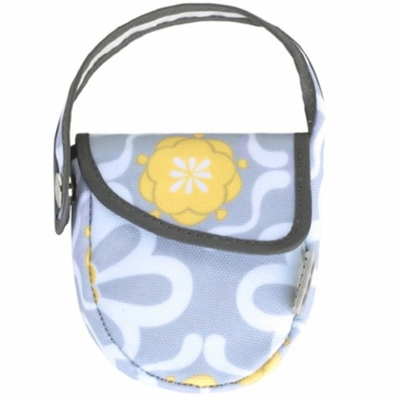 JJ Cole Pacifier Pod in Lemon Posy
