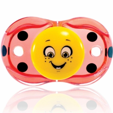 Razbaby Keep it Kleen Pacifier in Lola Ladybug