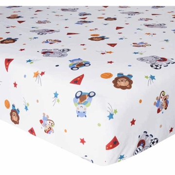 Bedtime Originals Teammates Fitted Crib Sheet