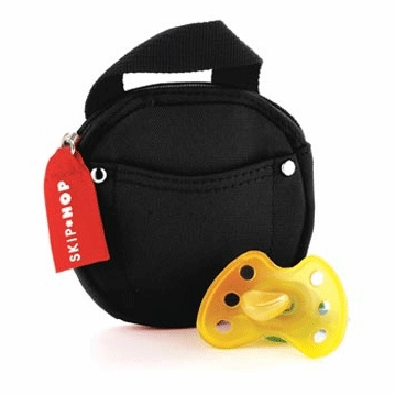 Skip Hop Pacifier Pocket in Black